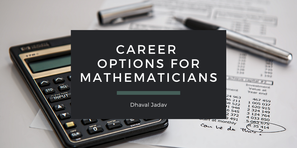 Career Options for Mathematicians
